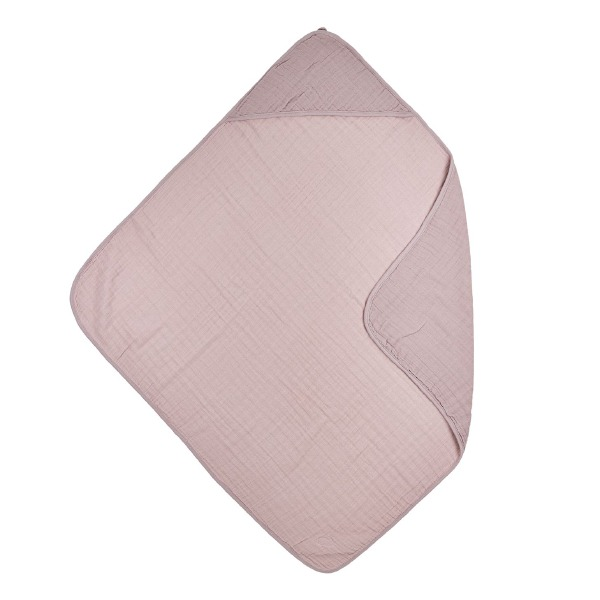 Hydrofiele badcape roze