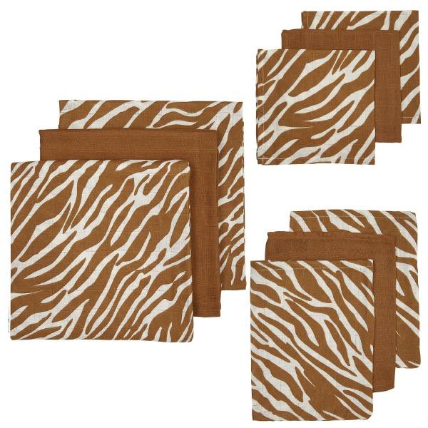 Meyco Hydrofiel starterset 9-delig Camel-Zebra