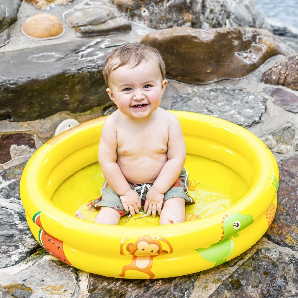 Swim Essentials Zwembad Geel 60cm